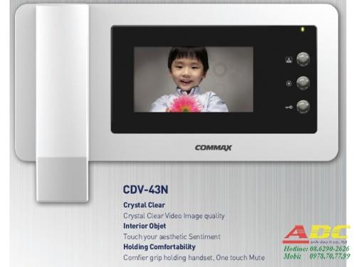 MÀN HÌNH MÀU CHUÔNG CỬA COMMAX CDV-43N